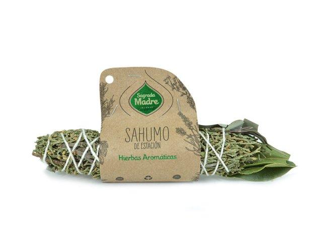 Producto #9000C      SAHUMO DE ESTACION 4 HIERBAS SAGRADA MADRE
