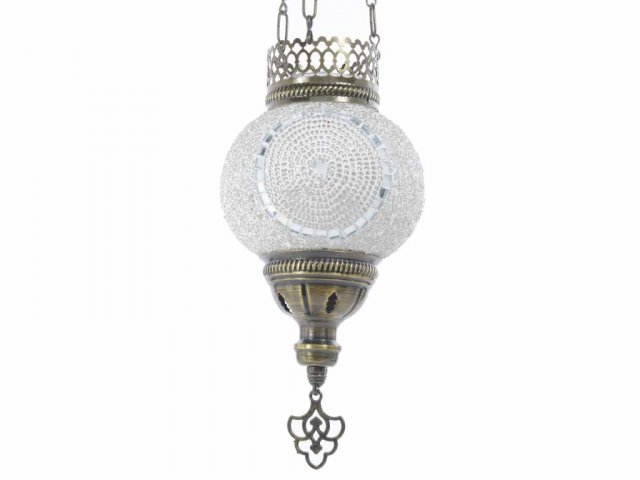 Producto #938A LAMPARA COLGABLE 3 CADENAS 13 CM