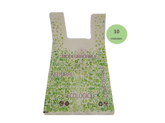 Producto #9500 BOLSAS BIODEGRADABLE X 10 UNI. SAGRADA MADRE