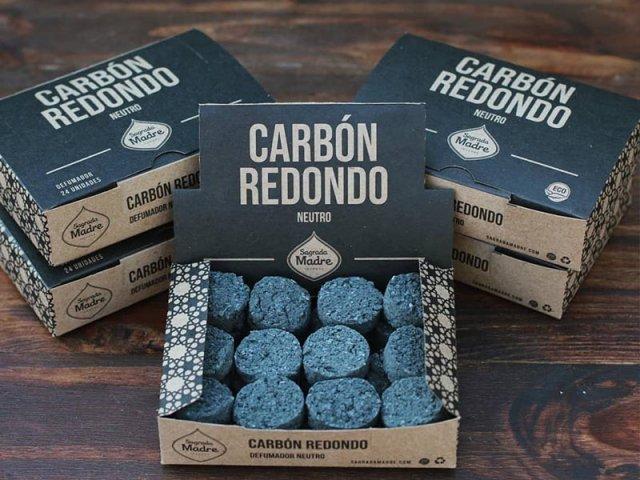 Producto #9000H      CARBON REDONDO X 24 SAGRADA MADRE