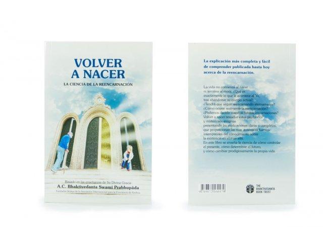Producto #3320       LIBRO VOLVER A NACER - REENCARNACION