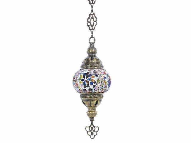 Producto #938 LAMPARA COLGABLE 1 CADENA 11 CM