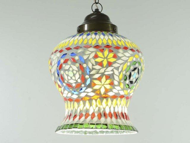 Producto #772K LAMPARA CAMPANA 25 CM