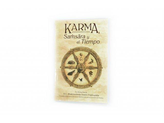 Producto #3313       LIBRO KARMA SAMSARA Y EL TIEMPO