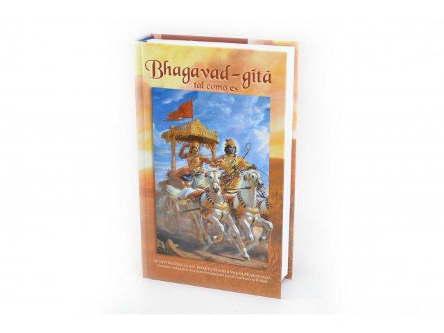 Producto #3315       LIBRO BHAGAVAD GITA TAL COMO ES