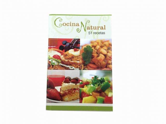 Producto #3321 LIBRO COCINA NATURAL (RECETAS)