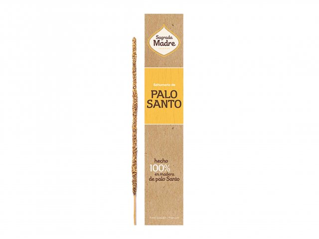 Producto #9100       SAHUMERIO SAGRADA MADRE PALO SANTO NATURAL