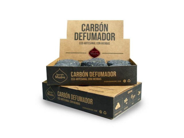 Producto #9000E      CARBON DEFUMADOR CAJA X 12