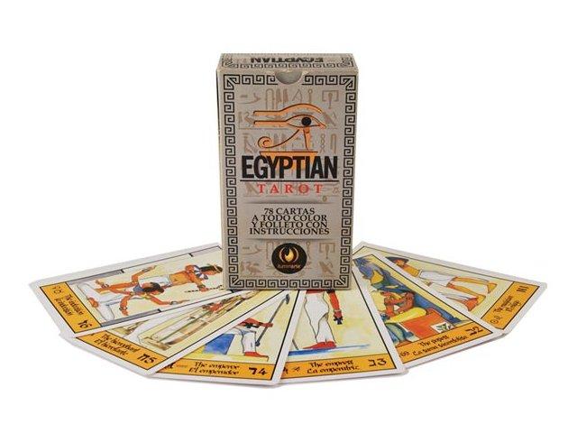 Producto #610B TAROT EGIPCIO ILUMINARTE