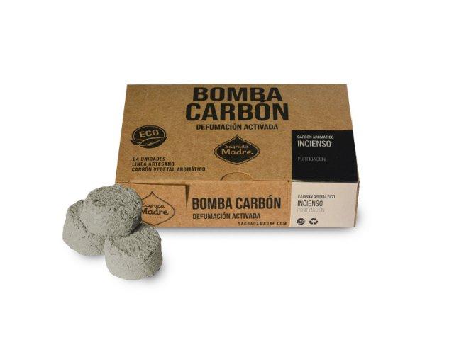 Producto #9000P      BOMBA CARBON X24 INCIENSO SAGRADA MADRE