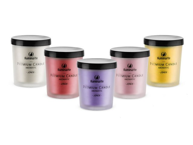 Producto #075 AROMATIC CANDLE (GLASS) 7 X 5.7 CM