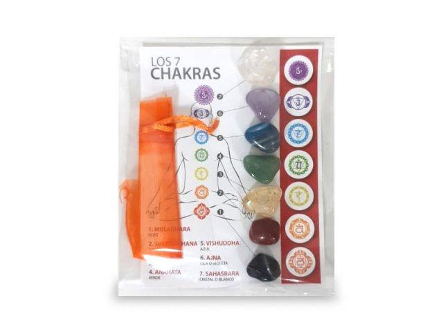 Producto #2001 PIEDRAS DE LOS 7 CHAKRAS