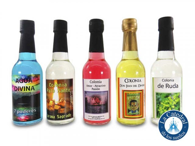 Producto #3471       COLONIA VIDRIO - AGUA FLORIDA/AMOR/DINERO/KANANGA