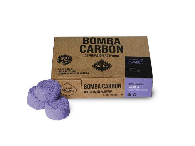 Producto #9000O      BOMBA CARBON X 24 LAVANDA SAGRADA MADRE