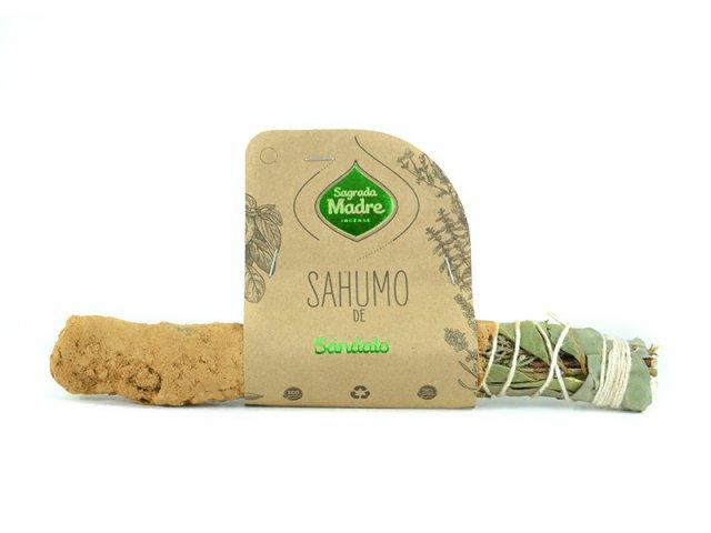 Producto #9000G      SAHUMO DE SANDALO Y AROMATICAS SAGRADA MADRE